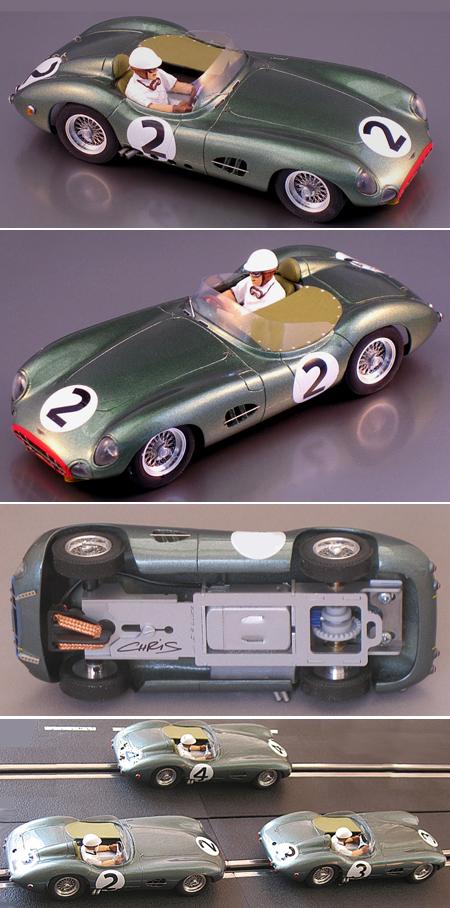 PSK 002-2-RTR Aston Martin DBR1 #2, LeMans 1958