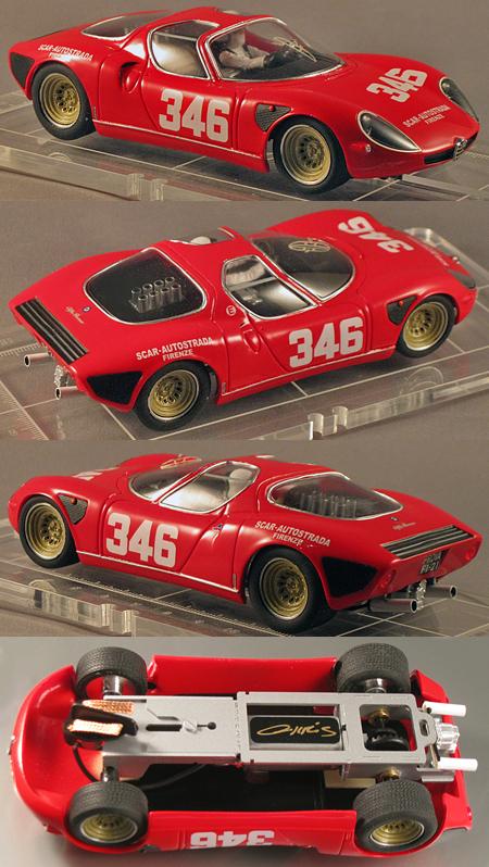 PSK 006-1-RTR Alfa romeo Stradale red #346