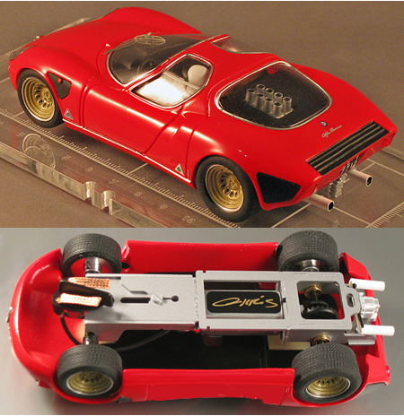 PSK 006-3-RTR Alfa romeo Stradale red