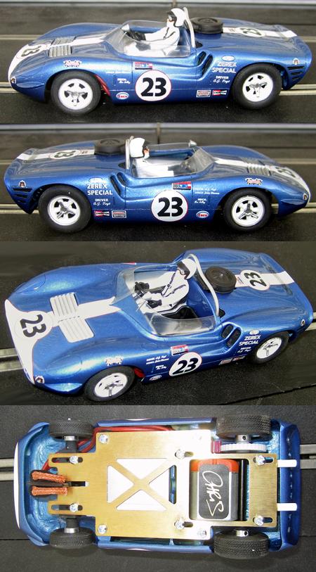 PSK 018-23 Hussein Dodge, Mecom Racing #23, Riverside 1964