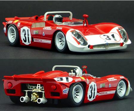 Racer RCR60A Alfa Romeo 33/3, Sebring 1970 #31. Preorder now!