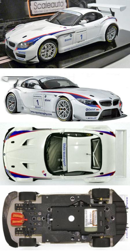 Scale Auto SC6017 BMW Z4 GT3 presentation car