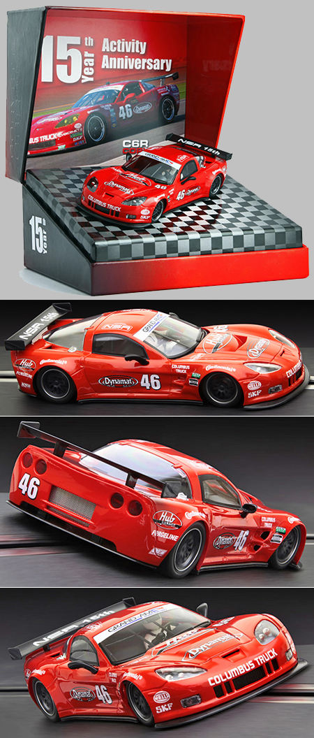 NSR SET07 Corvette C6R 15th Anniversary limited edition