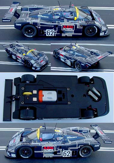 "Slot It SICA06D Sauber Mercedes C9, AEG ""Circuit Board"""