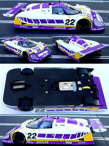 """Slot It SICA07b Jaguar XJR9 """"Silk Cut"""""""