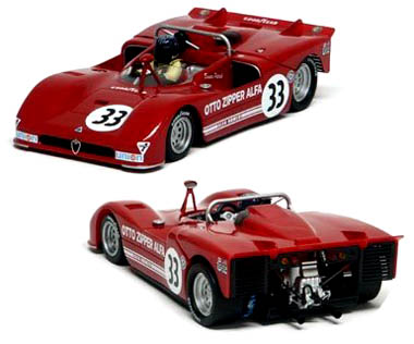 Slot It SICA11B Alfa Romeo 33/3, Laguna Seca 1972