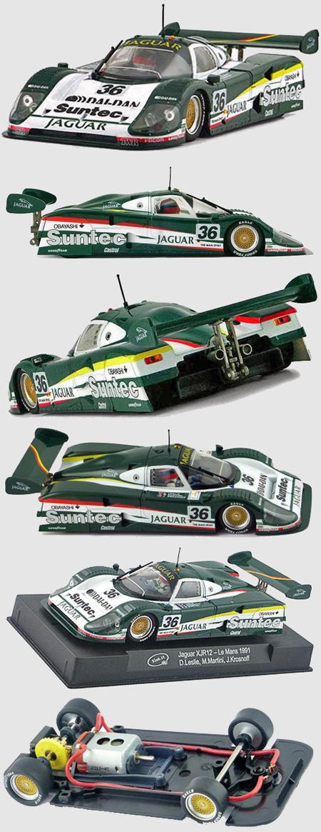 Slot It SICA13D Jaguar XJR12, #36, LeMans 1991