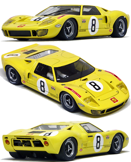 "Slot It SICA18B Ford GT40, ""Shell"" LeMans 1968"