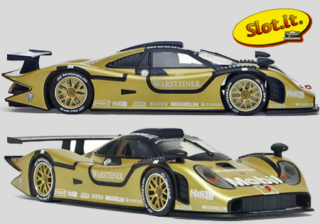 Slot It SICA23B Porsche 911 GT1-98 test car