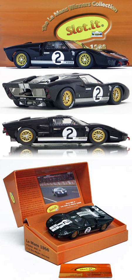 Slot It SICW10 Ford GT40 1966 LeMans winner