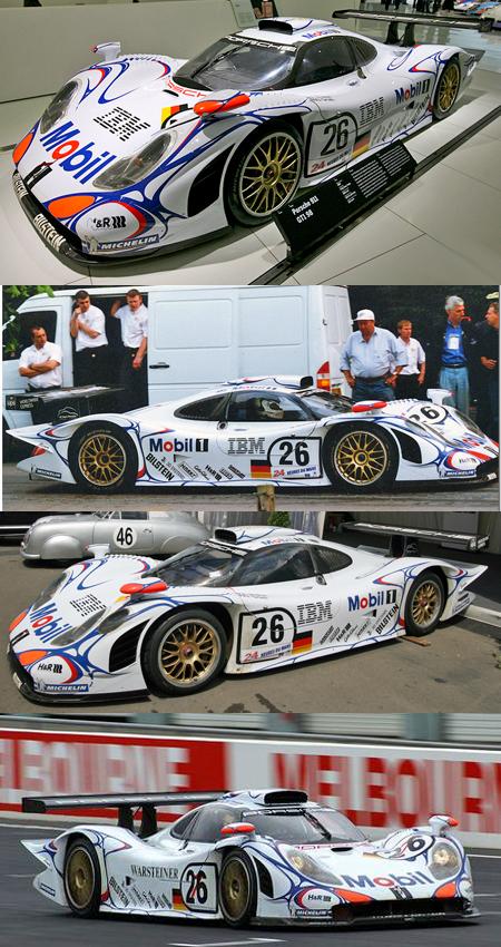 Slot It SICW13 Porsche 911 GT1-98 1998 LeMans winner