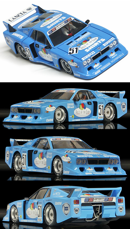 Racer SW18 Lancia Beta Montecarlo, Fruit of the Loom