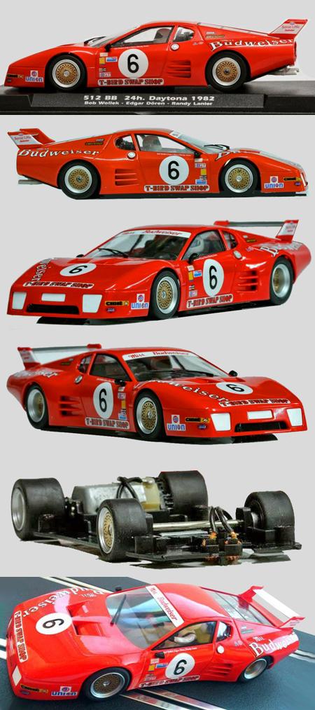 Fly W50101 Ferrari 512BB, Daytona 6hr 1982