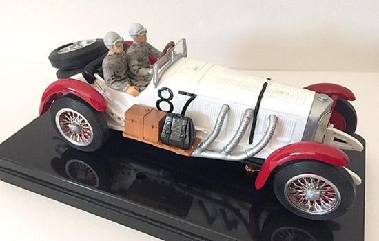 MMK744A Mercedes SSKL 1931 no. 87 winner Mille Miglia 1932,driver Rudolf Caracciola