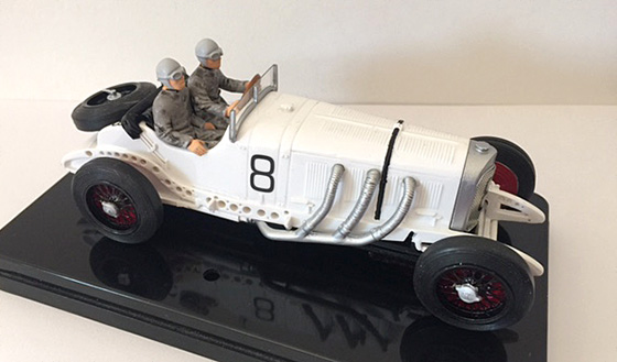 MMK744B Mercedes SSKL 1931 no. 8 winner German GP 1931