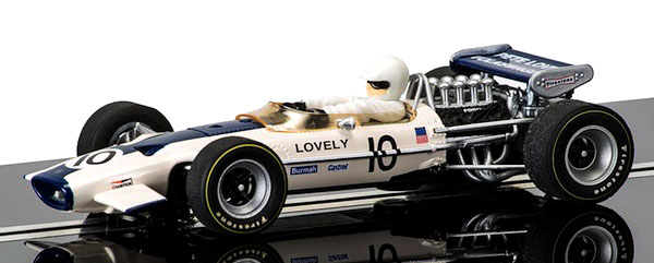 07_Scalextric C3707 Legends Team Lotus 49 – Pete Lovely LIMITED EDITION