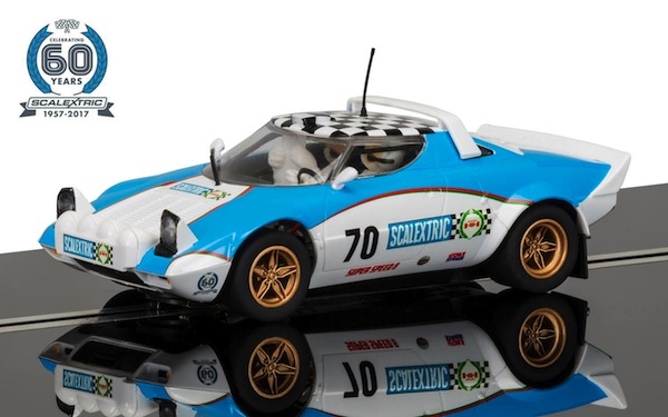 Scalextric C3827A 60th Anniversary Collection