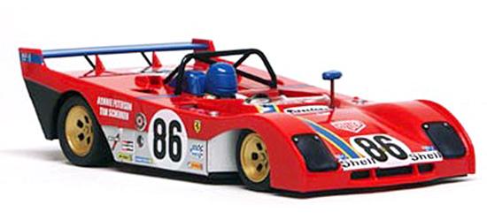 Slot It SIKF02 Ferrari 312PB KIT, #86, Peterson / Schenken, 1972 (C)