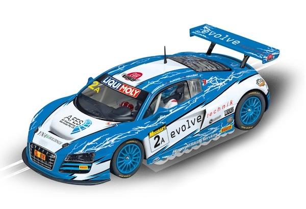 """Carrera 23840 Audi R8 LMS """"Fitzgerald Racing, No.2A"""" D124"""