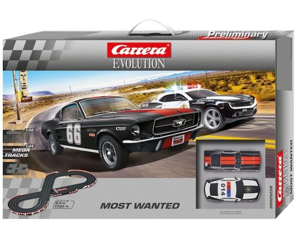 Carrera 25228 Most Wanted set