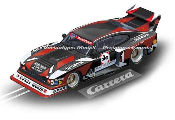 """Carrera 27561 Ford Capri Zakspeed Turbo """"Würth-Kraus-Zakspeed, No.01"""