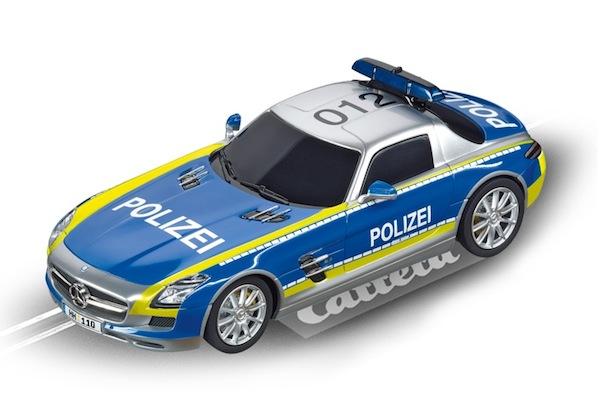 """Carrera 30793 Mercedes-SLS AMG """"Polizei"""" D132"""