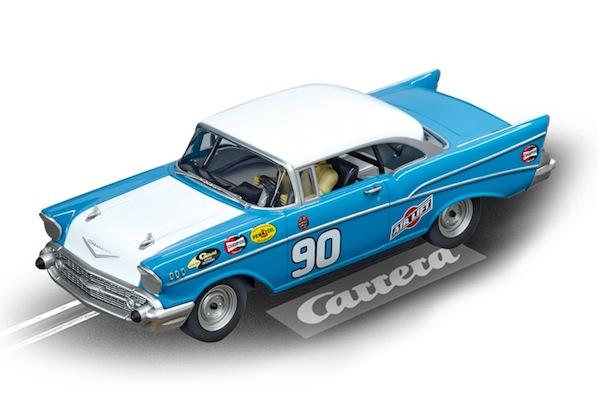 """Carrera 30795 Chevrolet Bel Air '57 """"No.90″ D132"""