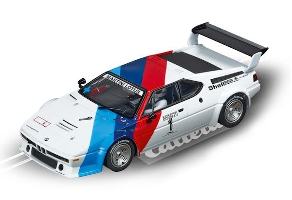 """Carrera 30814 BMW M1 Procar """"Andretti, No.01″, 1979 D132"""