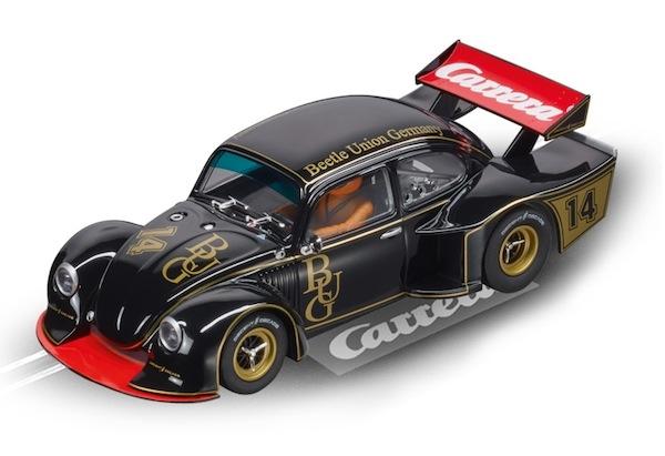 "Carrera 30820 VW Käfer ""Group 5″ Race 4 ""BUG"" in gold D132"