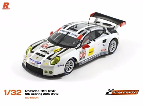Scale Auto SC6151R Porsche 991 RSR Sebring 2014 #912
