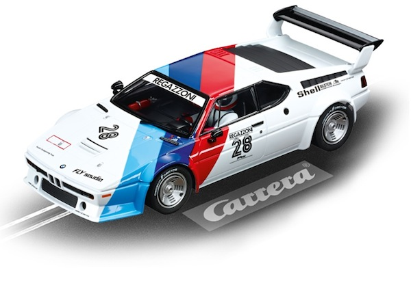 "Carrera 23820 BMW M1 Procar, ""Regazzoni No.28"" 1979 Digital 124"