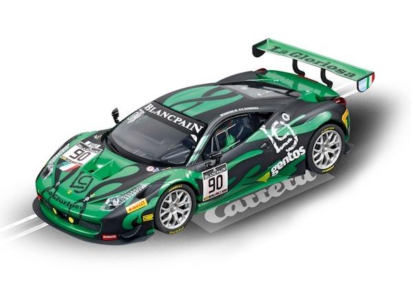 """Carrera 23839 Ferrari 458 Italia GT3 """"AF Corse, No.90"""" D124"""