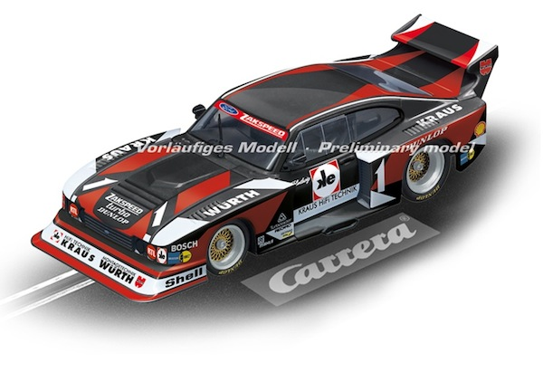 "Carrera 30816 Ford Capri Zakspeed Turbo ""Würth-Kraus-Zakspeed, No.01"" D132"