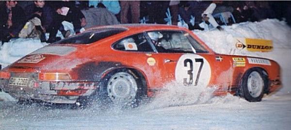 Fly 036107 Porsche 911 winner Monte Carlo Rallye 1969—PRE-ORDER NOW!
