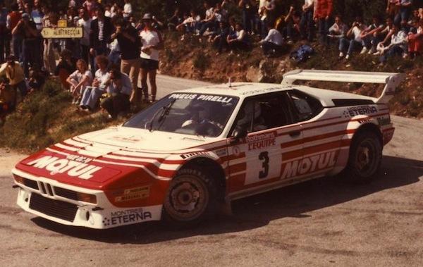 Fly 051107 BMW M1 Motul Rallye Tour de Corse 1983