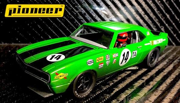 Pioneer P044 Team Chevy Camaro, Green #14,'12hr Enduro Racer'