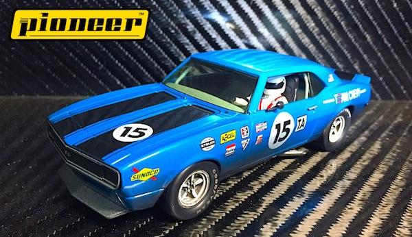 Pioneer P045 Team Chevy Camaro, Blue #15,'12hr Enduro