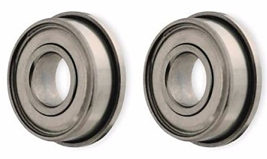 "PMTR1177 Ball Bearings 1/8"" Axle Single Flange Stainless Steel Double Side Sealed"