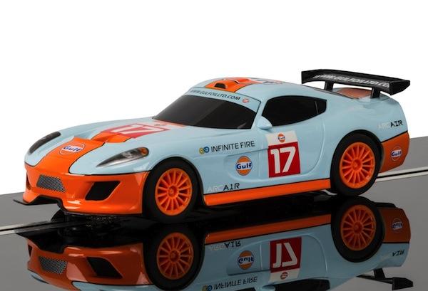Scalextric C3840 Team GT Lightning – Team GT Gulf—PRE-ORDER NOW!