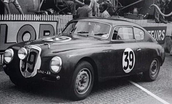 Slot Classic CJ48 Lancia B20 Aurelia, no. 39. 6th overall at Le Mans 1952—PRE-ORDER NOW!