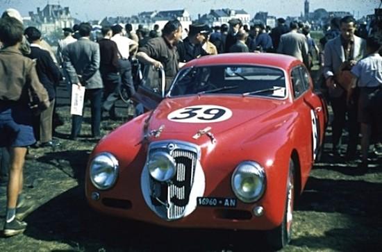 "Slot Classic CJ48S Lancia B20 Aurelia ""street"" red—PRE-ORDER NOW!"