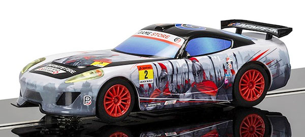 Scalextric C3839 Team GT Lightning – Team GT Spartan (Comic book)