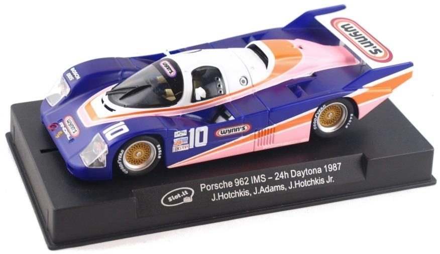 Slot.It SICA25D Porsche 962 IMSA #10 WYNN'S 24 Hr Daytona 1987