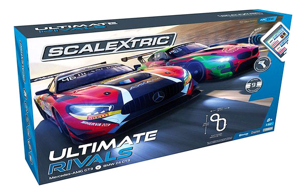 Scalextric C1356 ARC One Ultimate Rivals Set – Mercedes AMG GT3/BMW Z4 GT3