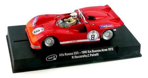 Slot It SICA11 Alfa Romeo 33/3, n.8 'CINZANO'