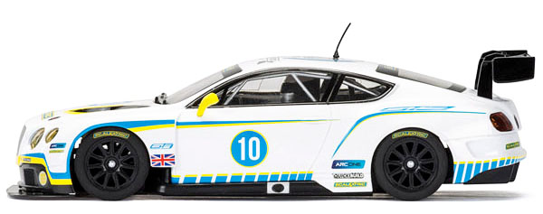 Scalextric C3831A Anniversary Collection Car No.1 – 2010s, Bentley Continental GT3 (C)