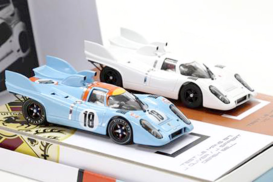 "Fly (Slotwings) RW005-01 Porsche 917K 1971 Le Mans Test Day 'Platinum' Collection""2-cars -PRE-ORDER"