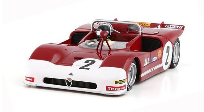 Slot.it SICA11G Alfa Romeo 33/3 2nd- 1971 Targa Florio #2