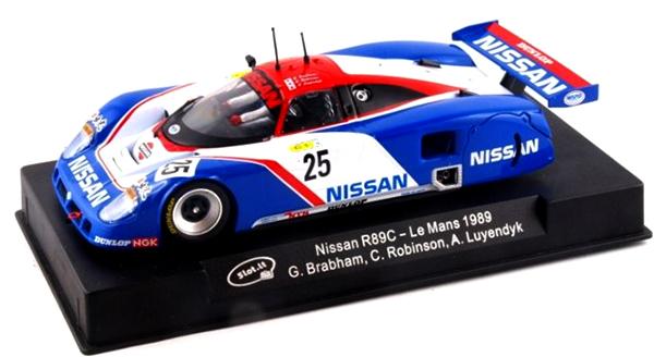 Slot It SICA28D Nissan R89C no.25, LeMans 1989