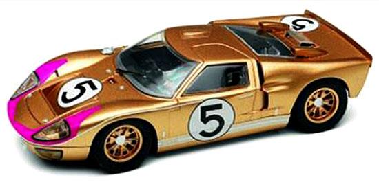 Slot It SICA20C Ford MKII 1966 No. 5 Third LeMans, Ronnie Bucknum, Dick Hutcherson